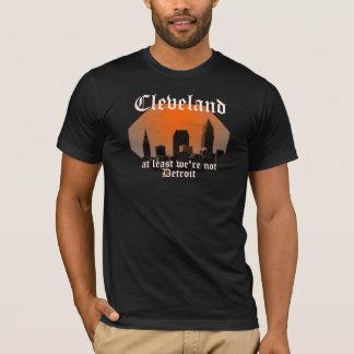 Camiseta Cleveland: pelo menos nós não somos Detroit