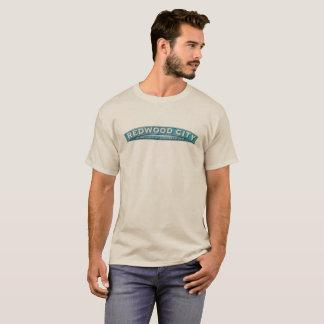 Camiseta Clima da cidade da sequóia vermelha melhor pelo