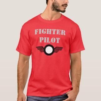 Camiseta clip_image002, piloto de caça
