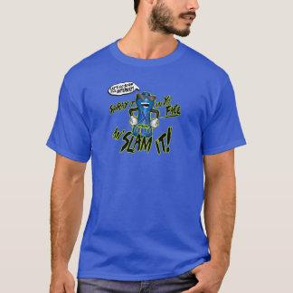 Camiseta Clone alto - pulverize-o em Yo enfrentam a batida