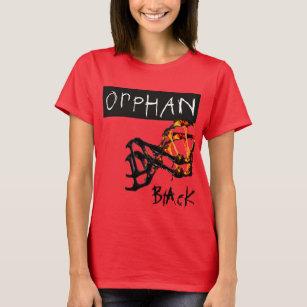Camiseta Clone preto órfão Sarah clonada 05eeb8627b87f