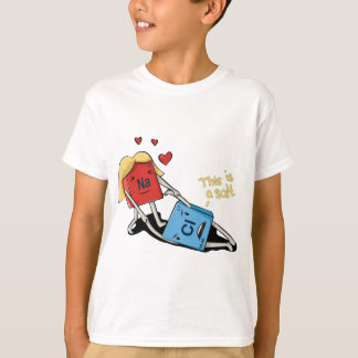 Camiseta Cloreto de sódio