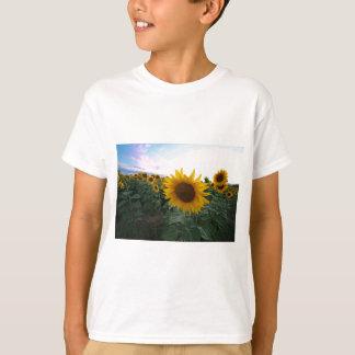 Camiseta Close up do girassol