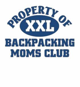 Camiseta Clube Backpacking das mães a92bc48620813
