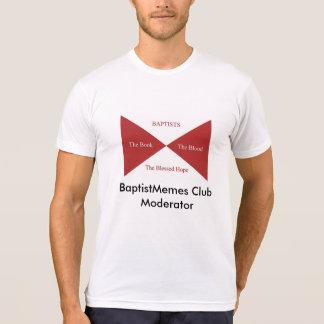 Camiseta Clube baptista de Memes: Monitor
