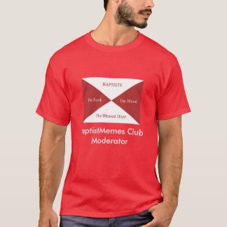 Camiseta Clube baptista de Memes: Monitor (escuro)