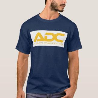 Camiseta Clube castanho-aloirado do bebendo
