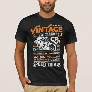 Camiseta Clube da motocicleta do vintage