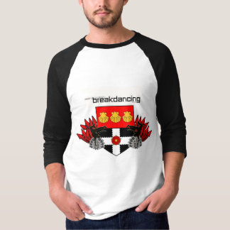 Camiseta Clube de Breakdance da universidade de leitura