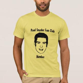 Camiseta Clube de fãs de Paul Snyder