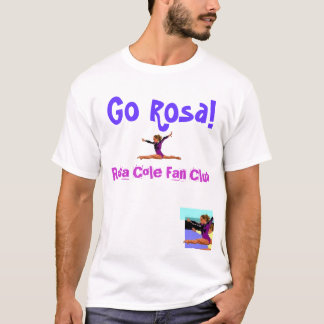 Camiseta Clube de fãs do Cole de Rosa