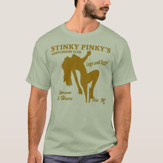 CAMISETA CLUBE DE STRIP-TEASE PINKY FEDIDO