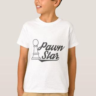 Camiseta clube de xadrez da estrela do penhor