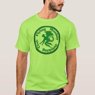 Camiseta Clube do bebendo do macaco do vôo
