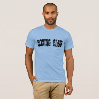 Camiseta Clube do encaixotamento