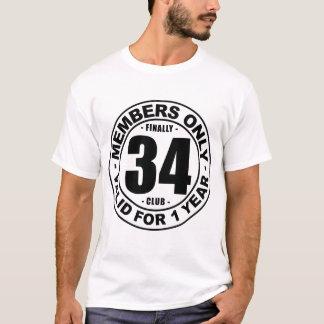 Camiseta Clube finalmente 34