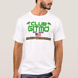 Camiseta Clube Gitmo: Waterboarding ao longo de um ano!
