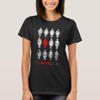 Camiseta Clube órfão do clone do preto | Leda