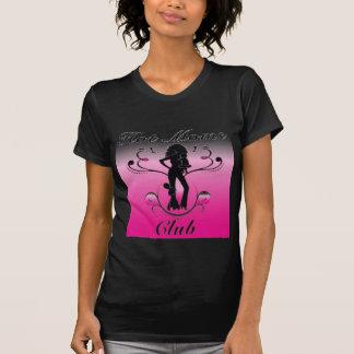 Camiseta clube quente das mães