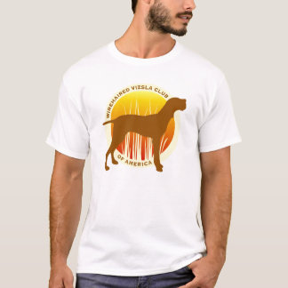 Camiseta Clube Wirehaired de Vizsla do t-shirt de América
