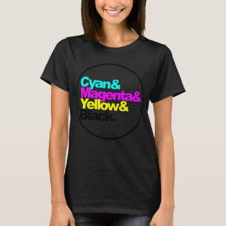 CAMISETA CMYK COLORS