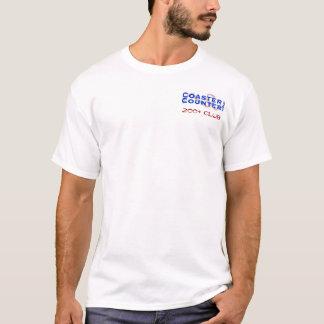 Camiseta CoasterCounter.com 200+ Clube