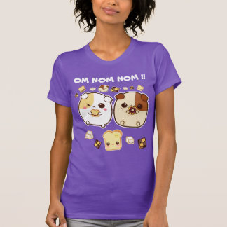 Camiseta Cobaias de Kawaii