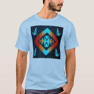 Camiseta Cobertura azul do chacal