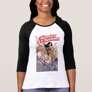 Camiseta Cobrir cómico #13 da mulher maravilha