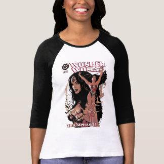 Camiseta Cobrir cómico #150 da mulher maravilha: Triunfante