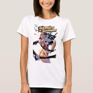 Camiseta Cobrir cómico #1 da mulher maravilha