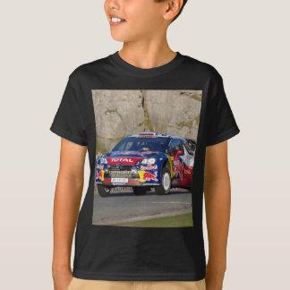 Camiseta Cobrir do carro da reunião de WRC