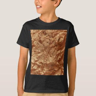Camiseta Cobrir do chocolate de um bolo