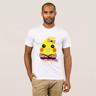 Camiseta Cockatiel do オカメインコオウム no quimono