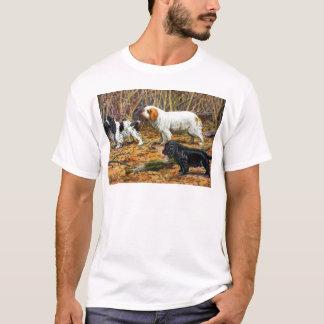Camiseta Cocker, Clumber e Spaniels de campo