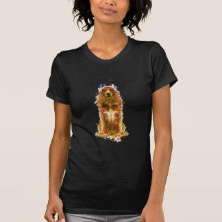 Camiseta Cocker spaniel e aguarela