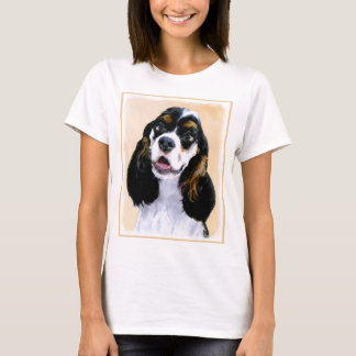 Camiseta Cocker spaniel (Parti-Colorido)