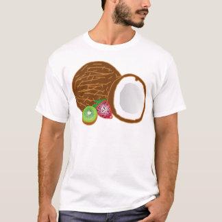 Camiseta Cocos tropicais do quivi