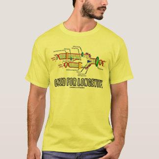 Camiseta Codificado para a longevidade (réplica do ADN)