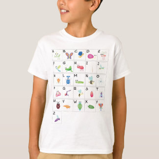 Camiseta Código chave - insetos