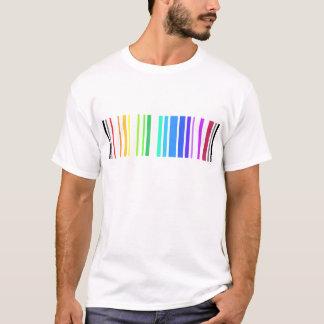 Camiseta Código de barras alegre