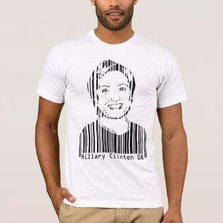 Camiseta Código de barras de Hillary Clinton