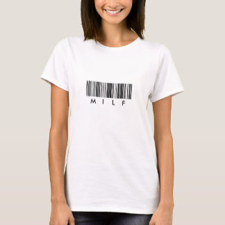Camiseta Código de barras de MILF