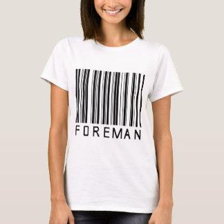Camiseta Código de barras do contramestre