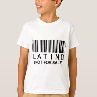 Camiseta Código de barras do Latino