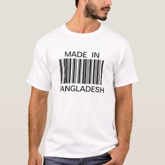 Camiseta Código de barras genérico personalizado feito no