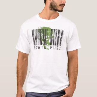 Camiseta código de barras-grande