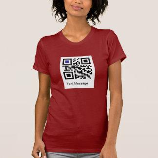 """Camiseta Código de QR para """"EU SOU UM LÉSBICA """""""