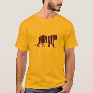 Camiseta Código do tigre