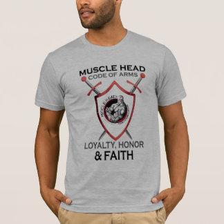 Camiseta Código principal do músculo dos braços